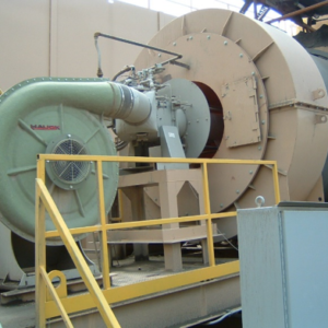 Rotary Minerals Dryers_Hauck Starjet on a rotary dryer
