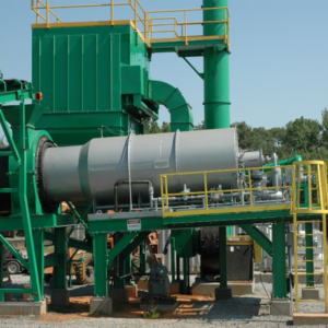 Rotary Minerals Dryers_Nucor Parallel Flow Dryer